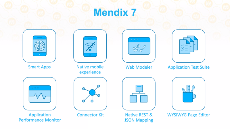 Mendix 7 to build apps at the speed of ideas